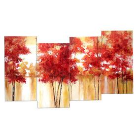 Picture of 40 X 20-in 3D Autumn Trees Studio Art