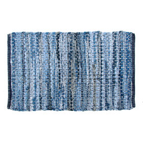 Picture of Denim Chindi Accent Rug 20 X 30-in