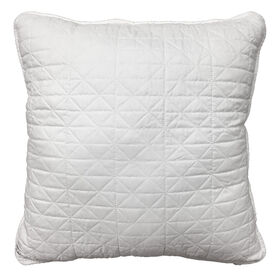 Picture of Ivory Quilted Pillow - 18in