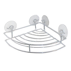 Picture of Corner Shelf Suction Caddy - Chrome