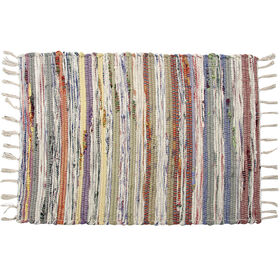 Picture of Pastel Multi Chindi Accent Rug 27 X 45-in