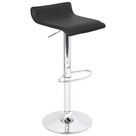 Picture of Black and Chrome Ale Barstool