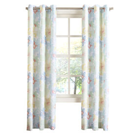 Picture of Honeydew June Pattern Window Curtain Panel 84-in