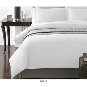 Picture of White NYC 3-Piece Duvet Set, Queen