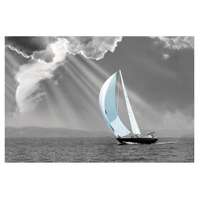 Picture of 24 X 36-in Sunbeam Sail Coastal Studio Art