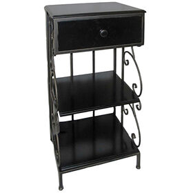 Picture of Metal & Wood Scroll Table
