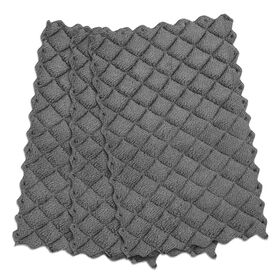 Picture of Gray Quilted Kitchen Dish Clothes - 3 Pack