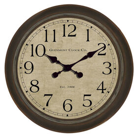 Picture of 30-in Large Bronze Glenmont Clock