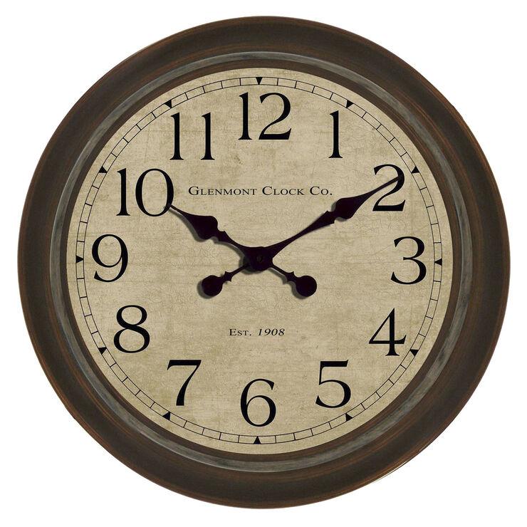 30-in Large Bronze Glenmont Clock