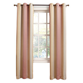 Picture of Tangerine Meredith Window Curtain Panel 84-in