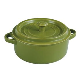 Picture of Green Round Casserole Dish with Lid- 2.25 Quart