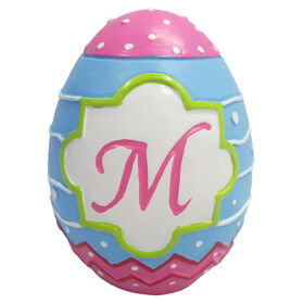 Picture of Easter Egg with M Monogram
