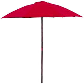 Picture of Market Red Umbrella- 6-ft