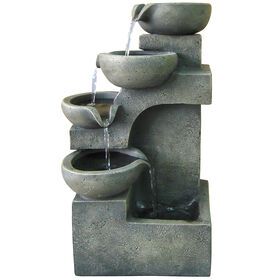 Picture of MODERN STEPPING BOWLS FOUNTAIN