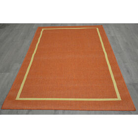 Picture of E100 Terra Border Rug