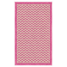 Picture of Chevron Stripe Kids Rug, 32 x 54