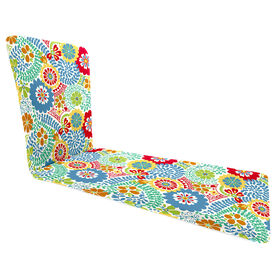 Picture of Luxury Multicolor Basic Chaise Lounge Cushion