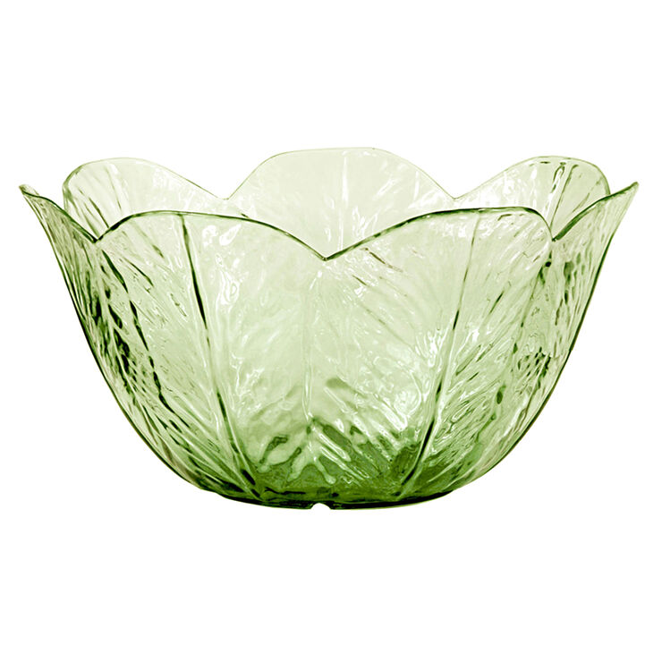 Siena Melamine Large Caesar Bowl - Green