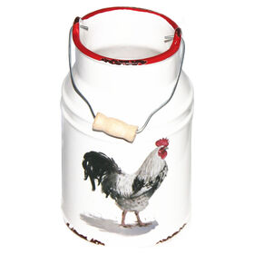 Picture of 7IN CERAMIC BUCKET W ROOSTER