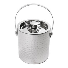 Picture of Hammered Stainless Steel Ice Bucket