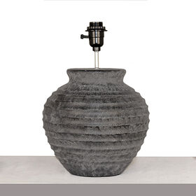 Picture of Charcoal Concrete Table Lamp- 13.5-in