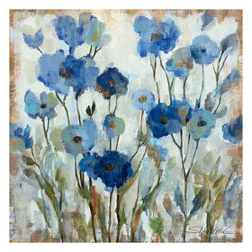Picture of 35 X 35-in Abstract Floral Gallery Art