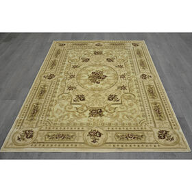 Picture of B15 Cream Chenille Rug