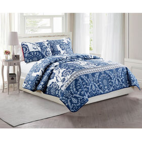 Picture of POLICINE 3 PCS QUILT SET KING