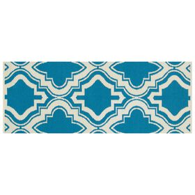 Picture of E162 Blue and Ivy Moroccan Rug