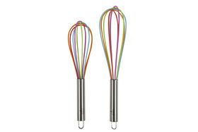 Picture of Silicone Rainbow Whisks - Set of 2