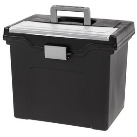 Picture of Letter File Organizer Box with Handle and Lid