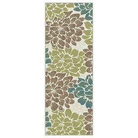 Picture of Beige Floral Studio Runner