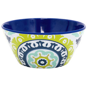 Picture of FLAIR 6  BOWL BLU/GRN PTRN