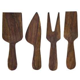 Picture of 4-Piece Wooden Cheese Spread Kit