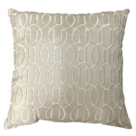 Picture of Ivory Embossed Pillow - 18in