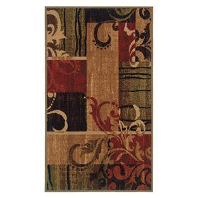 Picture of Filigree Print Accent Rug 17 X 27-in