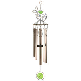 Picture of 26-in. Copper Frog Windchime