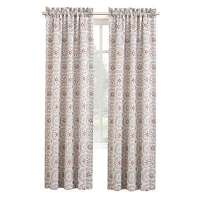 Picture of Stone Ibiza Pole Top Curtains 84 in.