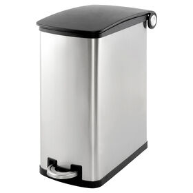 Picture of Simply Kleen 45-in. Galvanized Slim Garbage Can