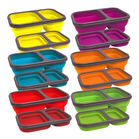 Picture of Silicone Collapsible 2 Section Food Container