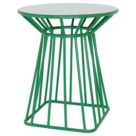 Picture of Jade Modern Wire Side Table- 18 in.