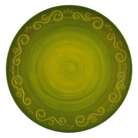 Picture of Green Siena Melamine Dinner Plate