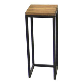 Picture of Wood-Top Metal Plant Stand - Small (Sold Separately)