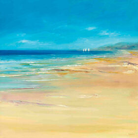 Picture of 35 X 35-in Perfect Beach Coastal Gallery Art