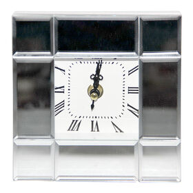 Picture of MIRRORED CLOCK  5.5X5X2