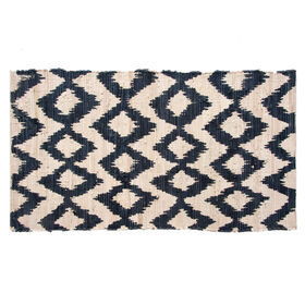 Picture of Navy Pegasus Chindi Accent Rug 27 X 45-in