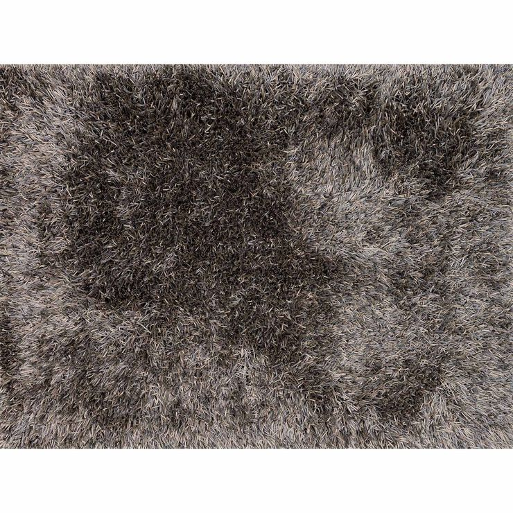 A259 Grey Luxe Shag Rug- 5x8 ft