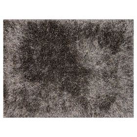 Picture of A259 Grey Luxe Shag Rug