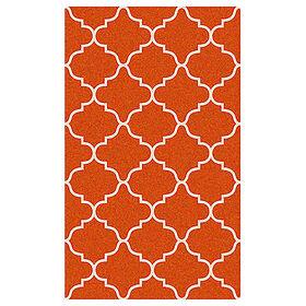 Picture of Orange Lattice Coir Doormat 18 X 30-in