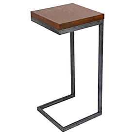 Picture of Nested Wood & Metal C Table- Sold Separately